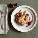 Cherry Oatmeal Cake